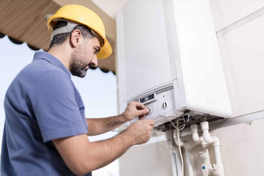 mise en service compteur gaz